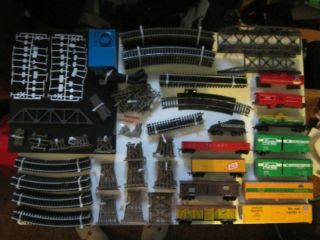 HO Scale Model Trains Tracks Track Supports Bridges Approximately 206