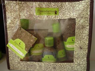 Macadamia Natural Oil Travel Set Kit 8 Piece