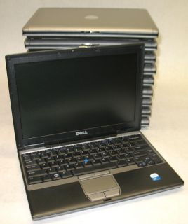 10 Dell Latitude D430 Intel Core 2 Duo U7600 1 2Ghz 2GB Wifi Laptops