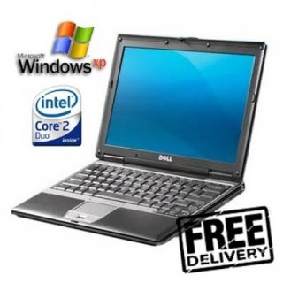 Cheap Fast Dell D430 Core 2 Duo Slim Small Laptop Wireless WiFi