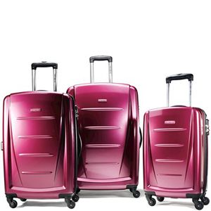 Piece Hardside Spinner Luggage Set Solar Rose 48185 2575