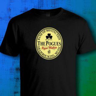 The Pogues Guinness T Shirt Shane MacGowan Funny Punk Irish Music