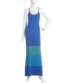 Madigan Colorblock Maxi Dress Royal