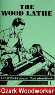 Craftsman Wood Lathe Handbook Operators Manual