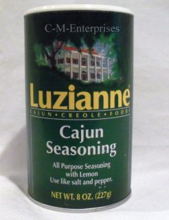 Luzianne Cajun All Purpose Seasoning 8 Oz
