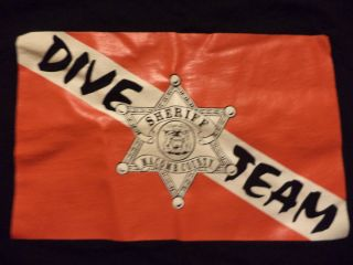 Macomb County Sheriff Dive Team T Shirt Sz s Suba Diving Michigan