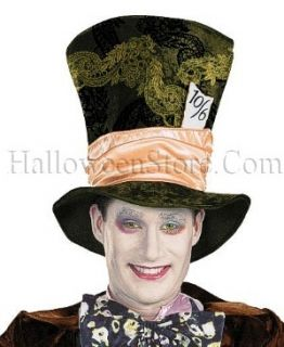 Licensed Wonderland Mad Hatter Adult Costume Hat