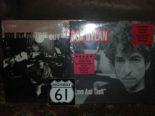 Bob Dylan Time Out of Mind Love and Theft SEALED original pressings