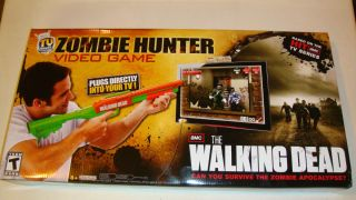 Zombie Hunter 2012 The Walking Dead Official TV Video Game New, Free