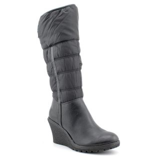 Madeline Spank Womens Size 7 Black Leather Fashion Knee High Boots