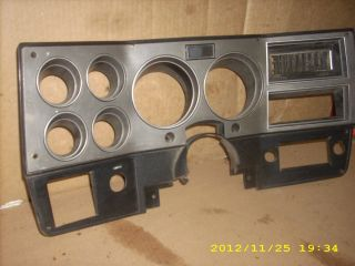 Silverado Blazer Dash Bezel Instrument Speedometer Cover 86 87 88