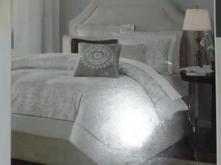 Madison Park Sausalito 6 Piece Full Queen Size Duvet Cover Set