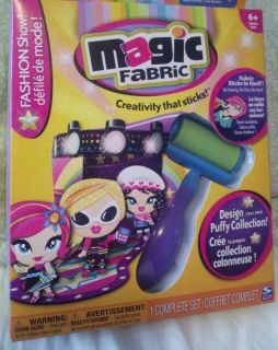 Magic Fabric Fashion Show No Mess Craft Project Activity Girls No Sew