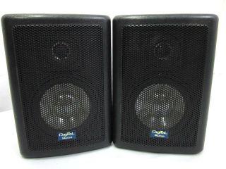 Digital Audio Indoor Outdoor Metal Grill 2 Way Speakers