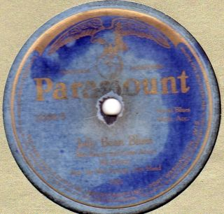 Paramount 12238 MA RAINEY & GEORGIA BAND w LOUIS ARMSTRONG Jelly Bean