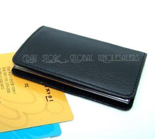 Magnetic Lid Business card holder Credit Name ID Card Case Holder Gift