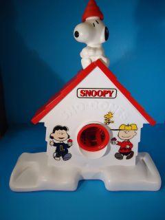 Vintage Snoopy Peanuts Gang Snow Cone Maker Machine