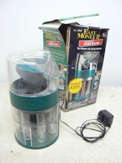 Magnif Easy Money II Motorized Coin Sorter Bank Sorting Machine, AC or