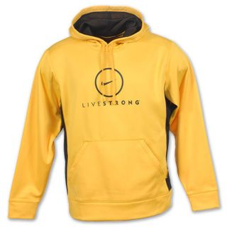 Therma Fit Livestrong Lance Armstrong KO Varsity Maize Hoody