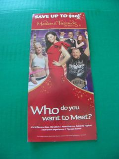 Madame Tussauds Wax Museum $5 00 Off Coupon Up to 4 People LV NV
