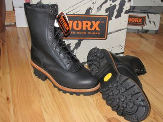 5471 Mens Steel Toe Logger Red Wing Work Logging Boots