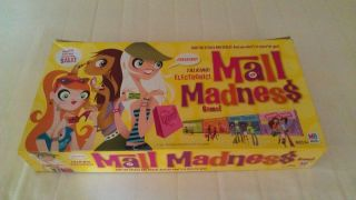 MALL MADNESS 2004 Board Game Complete VGC Electronic Talking Shopping