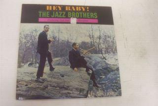 Jazz Brothers Hey Baby LP Riverside White LBL Mangione