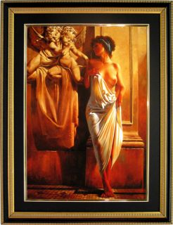 Maher Morcos Egyptian Art Framed Print Woman