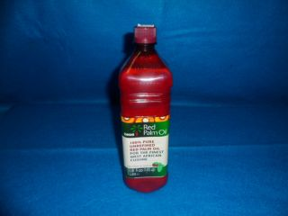 Manteca de corojo africana 1lt, red palm oil religion yoruba ifa orula