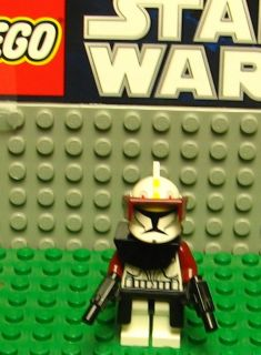 STAR WARS LEGO MINI FIGURE  MINI FIG   CUSTOM COMMANDER FOX   CHEAP