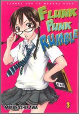 English Manga Comic Flunk Punk Rumble 1 to 3