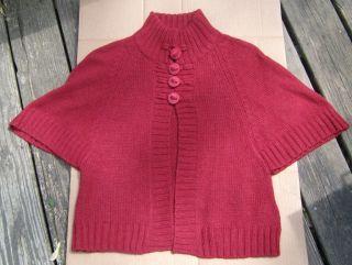 Womens Calvin Klein Pea Coat Sweater Sz S
