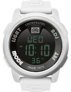 Mens Marc Ecko Unltd White Digital Watch E07503G2
