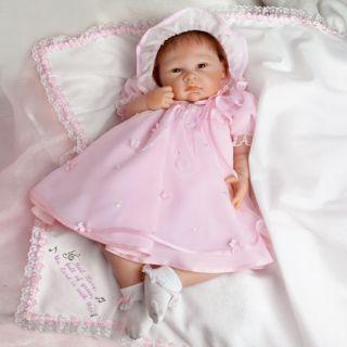 Ashton Drake So Truly Real Maria Reborn Silicone Vinyl Baby Doll