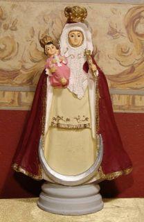 Virgin Virgen de La Candelaria Maria Statue Imagen