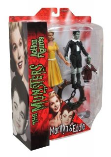 The Munsters Select Marilyn Eddie Action Figure