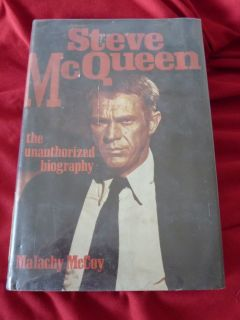 McQueen The Unauthorized Biography by Malachy McCoy 1974 Hardcover
