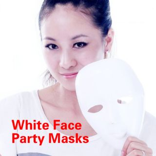 Mime Mask Costume Masks White Masquerade Masks Mardi Gras Face
