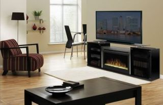 Dimplex SAP 500 B Black Marana Electric Glass Ember Fireplace Media