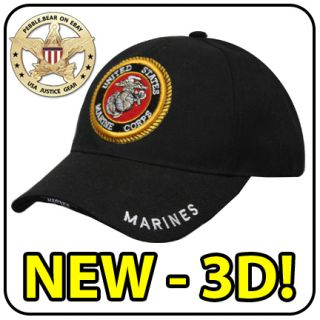 New Marine Corps US Ball Cap USMC Law League Seal Hat