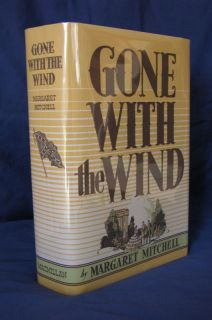 1936 Gone with The Wind Margaret Mitchell 1st Edition Nov Print First