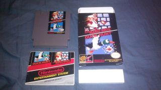 Nintendo NES Super Mario Brothers and Duck Hunt Complete in Box CIB