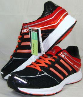 Sz 11 5 Mens Black Red Adizero Mana 6 Running Training Shoes