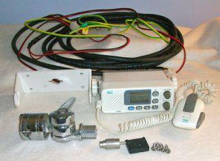 SE 2510 Marine VHF Radio Mounting Bracket Cable Antenna Mount