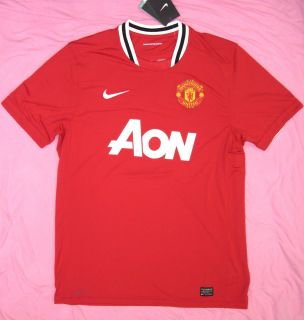 Manchester United soccer jersey NEW official NIKE fussball futbol