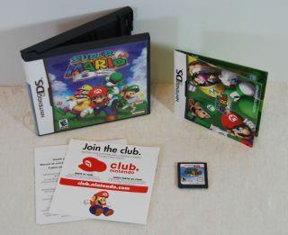 Super Mario 64 Nintendo DS 2004 Complete in Case