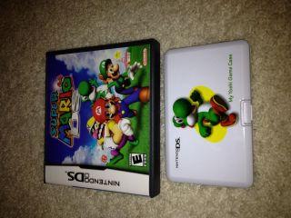 Super Mario 64 Nintendo DS Game Case Booklet Free Yoshi Game Case