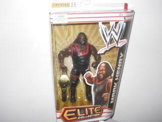 Mark Henry WWE Mattel Elite Series 15 Action Figure Toy