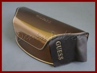 Guess Sunglasses Bronze Watch Case Mens Womens