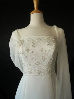 Casablanca Bridal Wedding Gown Dress 1704 Sz 10